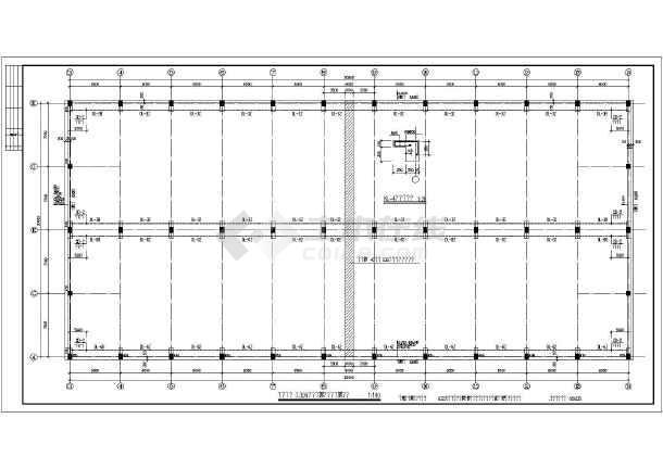某地区单层排架结构厂房结构施工图