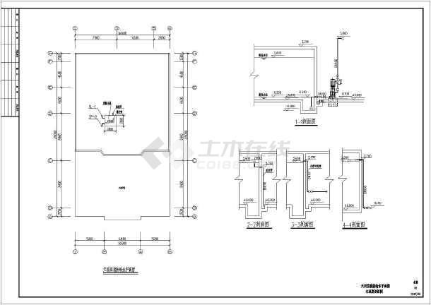 某六层多层综合楼下载自动灭火系统设计(cad图纸建筑)安新地产设计logo图片