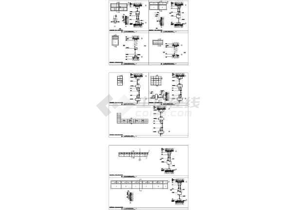 门窗节点设计图(建筑cad图纸)