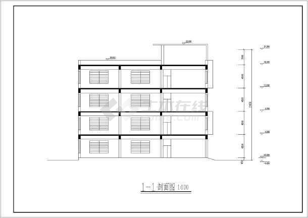 某工厂车间和修理车间设计图(全集)图片