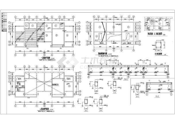 【福建】某农村房屋建筑施工设计图纸图片3