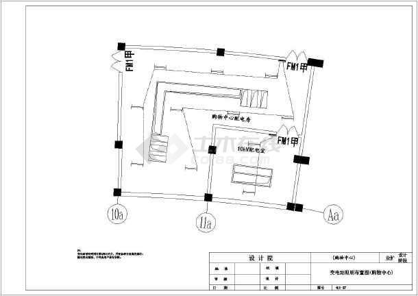 10kV双图纸供电系统一二次图v图纸_cad水暖下载电源图纸家用图片