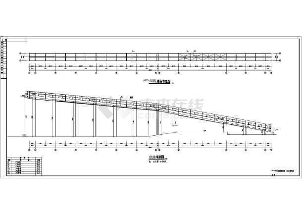 某地厂房钢结构皮带廊结构设计施工图