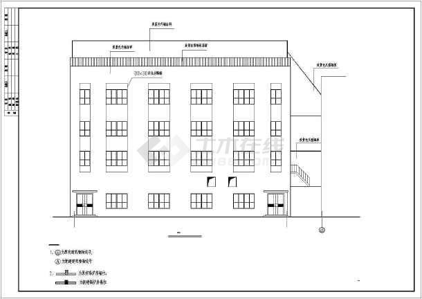 某热电厂35吨锅炉房建筑设计方案图图片