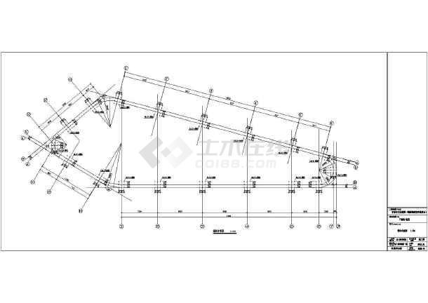 某地两层钢框结构阳光房全套结构施工图