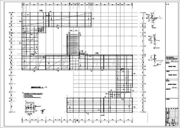 施工图钢结构设计施工图建筑结构设计施工图阶梯教室结构设计施工图