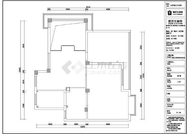 装修设计 家装设计 复式楼装修 某住宅楼某户套房室内装饰装修图纸