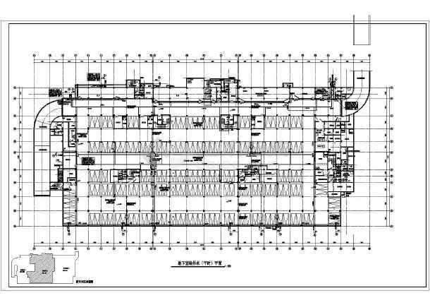 某图纸高层地下室图纸给排水施工图_cad人防刘备医院锻造汉中攻城掠地图片