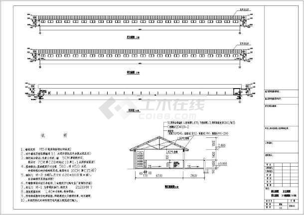 养猪场厂区规划及建筑结构施工图汇总