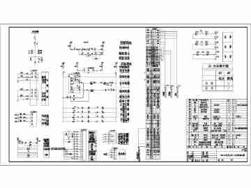 某小区1250kva的10kv箱式变电站电气施工图图片