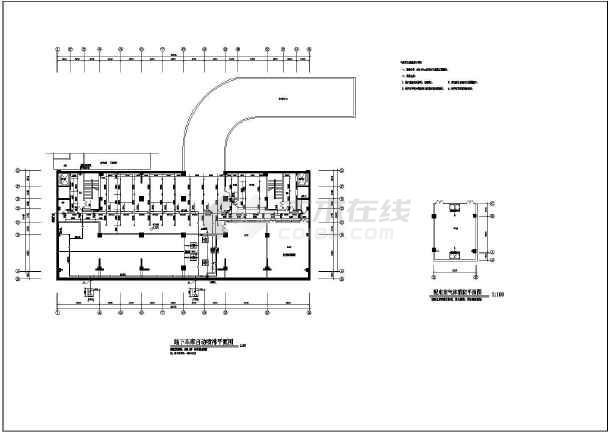 排水 消防工程施工图图片