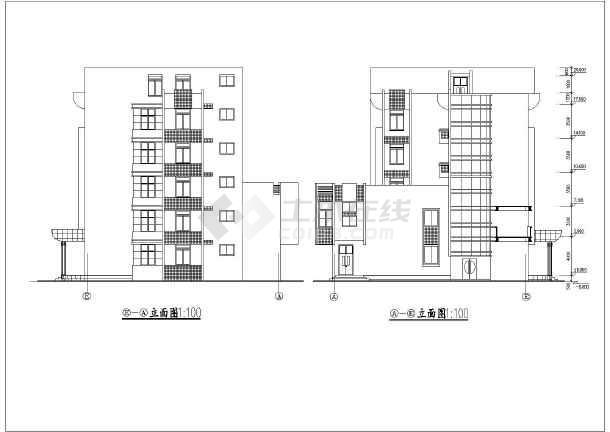 某地区五层行政办公楼建筑方案设计