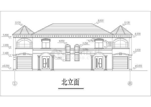 美式-别墅全套施工图