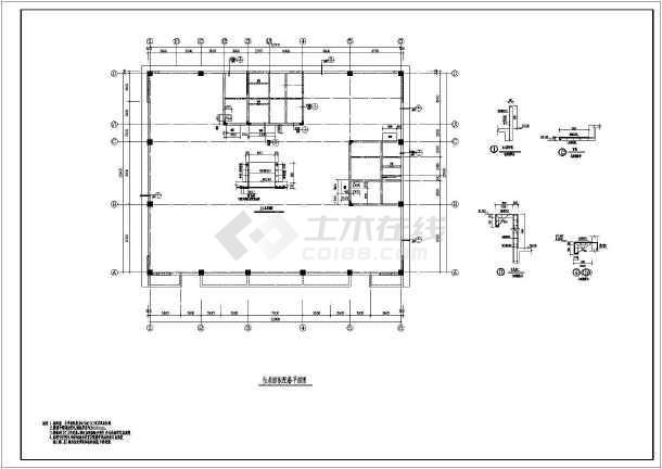 彬县某16层框架剪力墙结构办公楼结构施工图