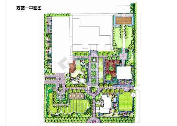 【北京】欧式庄园景观方案设计图片1图片