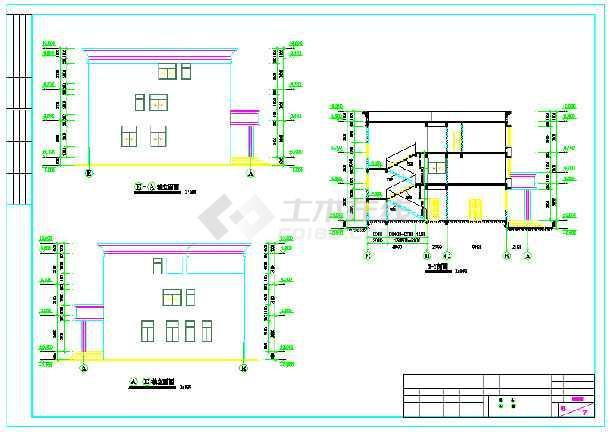 【广东】某三层派出所建筑结构施工图LG液晶电视42SLQD90图纸电源
