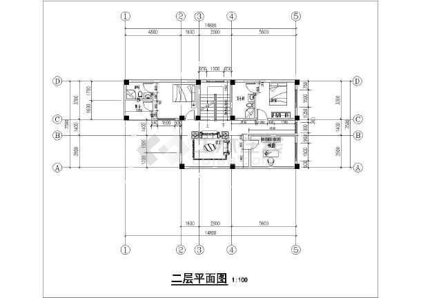 农村房子两层设计图