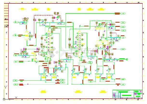 工艺管道及仪表流程图