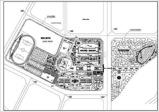 某地五层框架结构中学教学楼建筑设计方案图