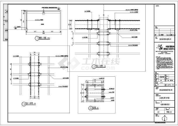 某地钢结构景观木廊架全套施工图纸
