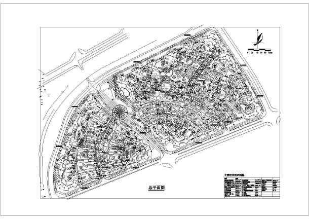 住宅小区设计平面图
