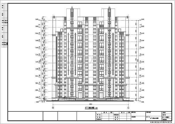 某高层住宅楼建筑,结构施工设计图