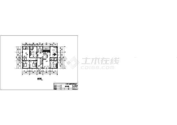 广东某地六层出租房建筑设计方案图