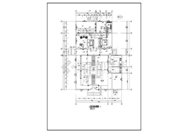 北京某地三层中式别墅建筑设计方案图纸