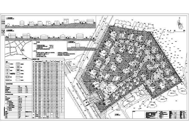 图纸主要内容包含:住宅小区,商业建筑,物业建筑,休闲场所,以及其他