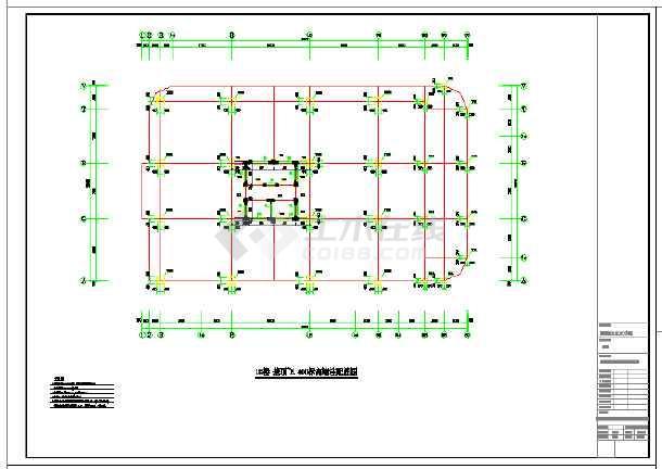 某地标准框支-剪力墙高层商住楼带车库结构施工图
