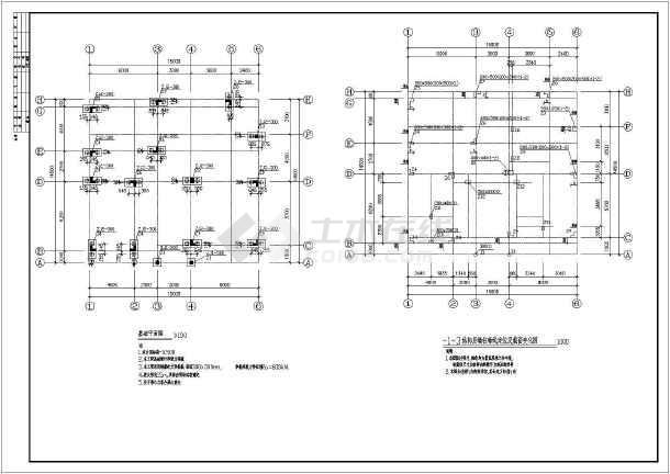 某二层358平米别墅建筑设计图(长15米 宽14.5米)