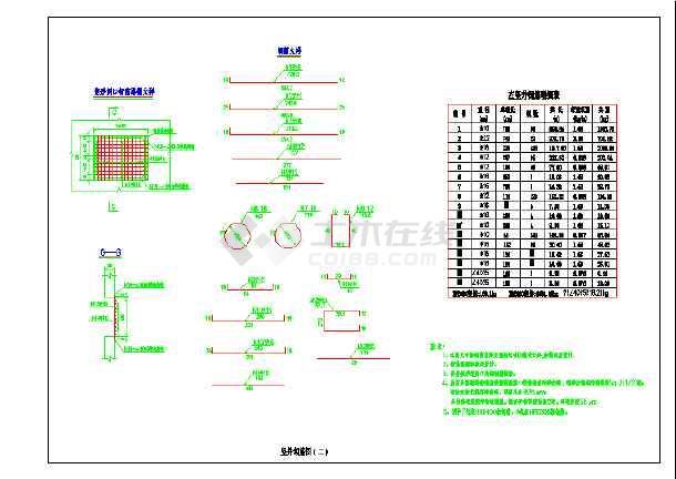 φ1500钢波纹管倒虹吸设计图_cad内存下载cad2010图纸几g个图片