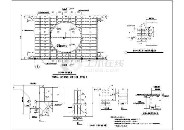 相邻楼栋之间连廊钢结构设计施工图