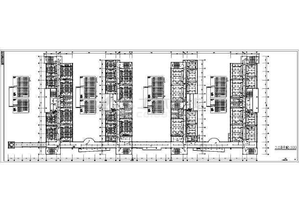 某中学一栋5层教学楼强弱电设计施工图