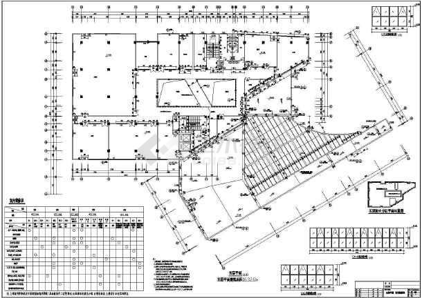 该图纸包括:建筑设计说明,建筑各层平面图,屋顶平面图,立面图,剖面图