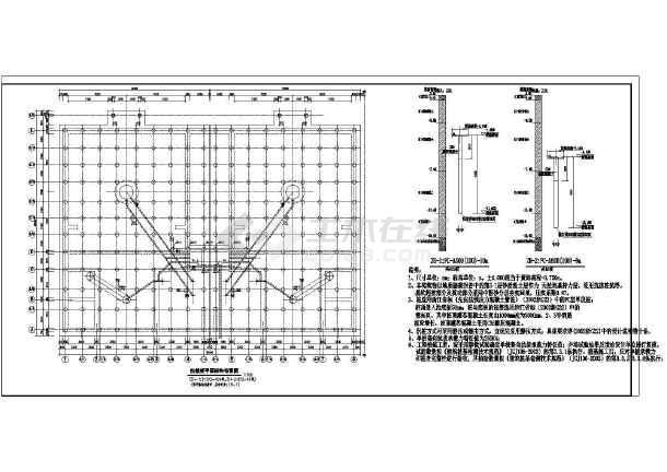 图纸 建筑结构图 结构构造图纸 水池构造图 25.