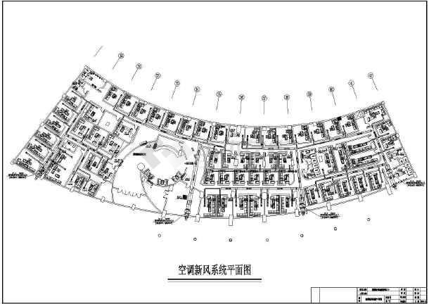 芜湖好乐迪ktv暖通空调设计平面图