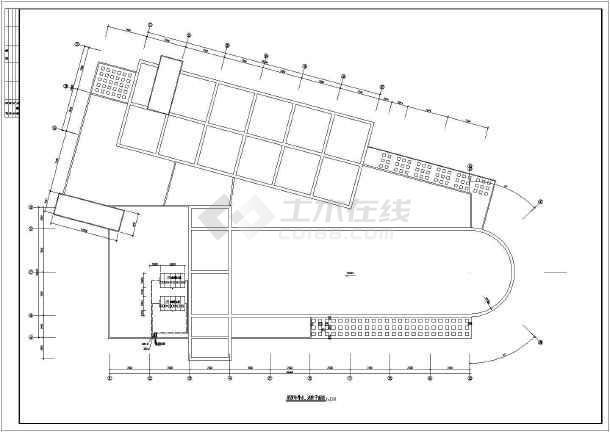 图纸给排水、消防和灭火器设计图_cad食堂下天图纸刀华府图片