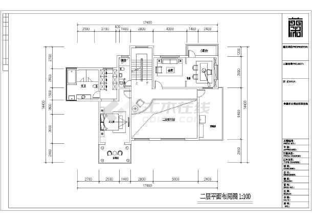 某小区欧式风格三层别墅设计图