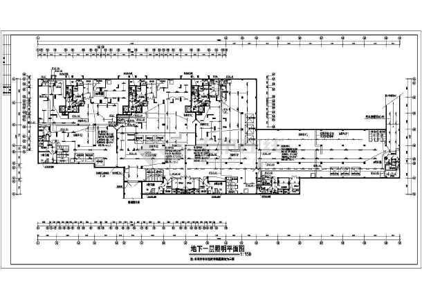 很完善的某小区电气-人防-图3