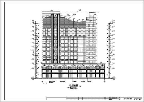 某地区十二层星级酒店建筑设计方案图
