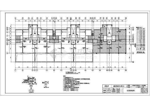 河北某11层钢筋混凝土剪力墙结构住宅楼结构施工图