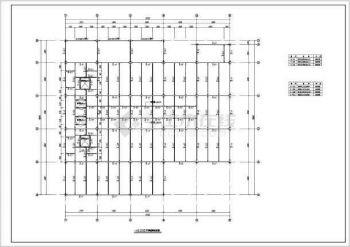 架钢结构v武器武器结构图纸施工图_cad图纸下tbc厂房基础灼热图片