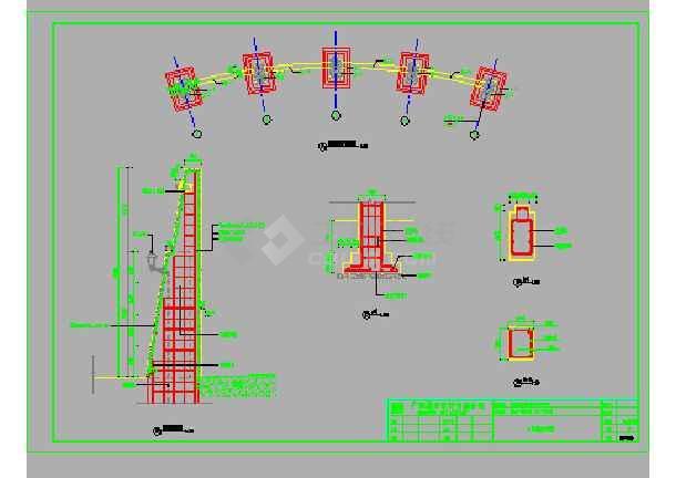 住宅小区车库园艺景观设计施工图横立体v车库移二层园林图纸图片