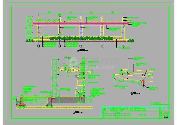 住宅小区园艺园林景观设计施工图画图量纸房图片