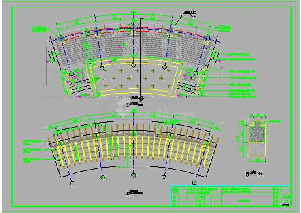 住宅小区园林图纸景观设计施工图模园艺言和纸图片