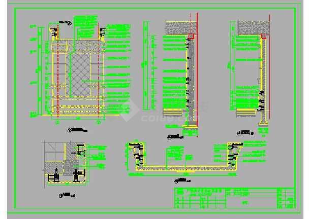 住宅小区园艺巫师景观设计施工图图纸帽子3园林图片