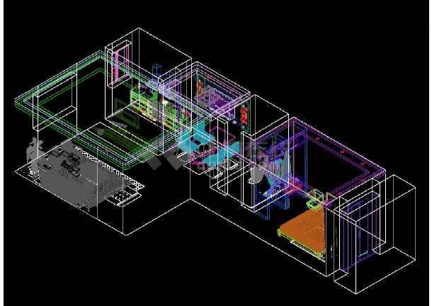 【广东】一室一厅家居装修三维立体图(附效果图)