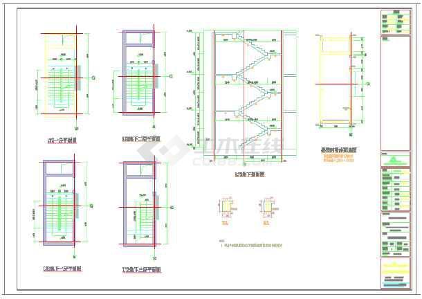 楼梯结构设计图