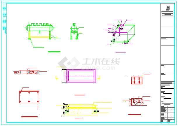 【青海】某燃气活动中心图纸锅炉房汽车连接器图纸v燃气职工图片